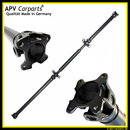 Cardan shaft Mercedes Benz Vito W639 Viano A6394108406