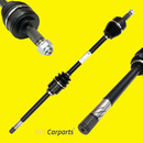 Drive shaft front left Audi 80 & Coupe with ABS